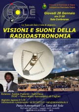 locandina Radioastronomia